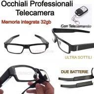 Occhiali con telecamera nascosta professionali