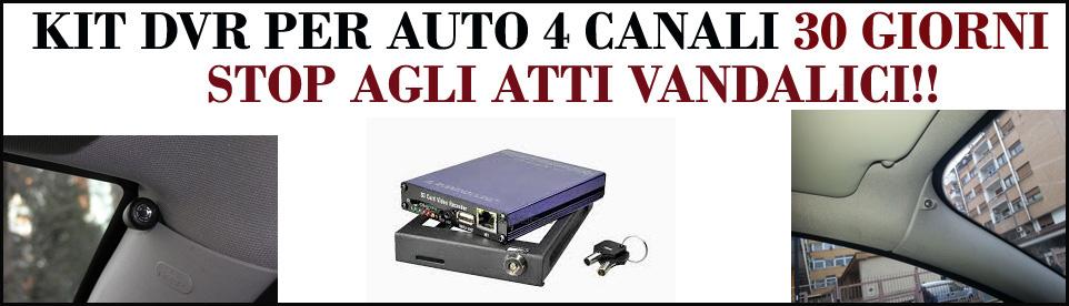Kit Telecamere auto 360° - Security Sistem